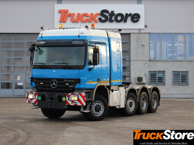 Buy Used Actros Trucks From Mercedes Benz Truckstore